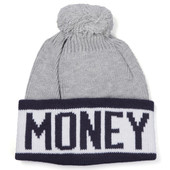 Money Block Bobble Hat at masdings.com