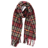 Fred Perry Woven tartan Scarf at masdings.com