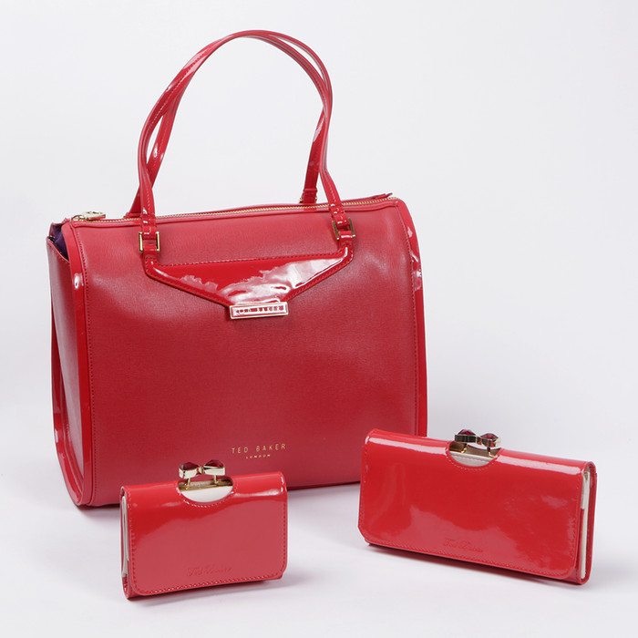 8ee1c9424 The larger Ted Baker purses are the most popular but the smaller version  are cuter  which would you choose