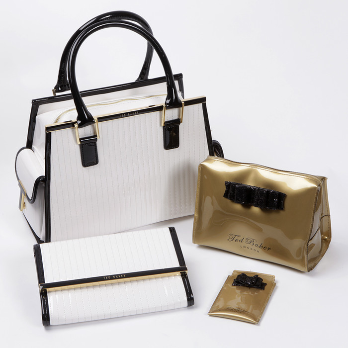 0065ec777 Multifunctional bag hey! The gold and black sets feature glitter bows  making them more festive than the others.