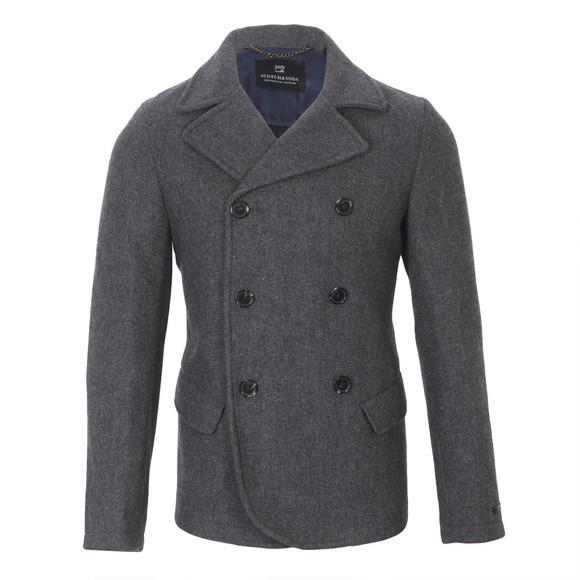 Scotch & Soda Slim Fitted Wool Jacket at oxygenclothing.co.uk