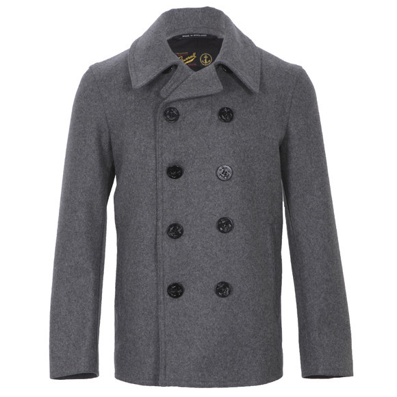 Gloverall big button reefer jacket