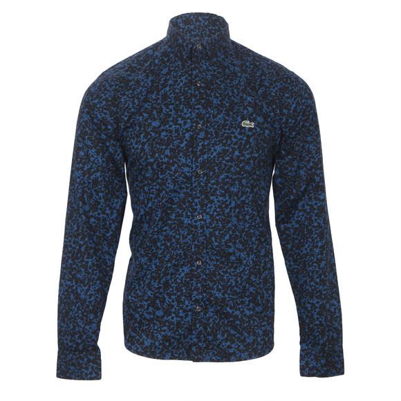 Lacoste live ink splat shirt