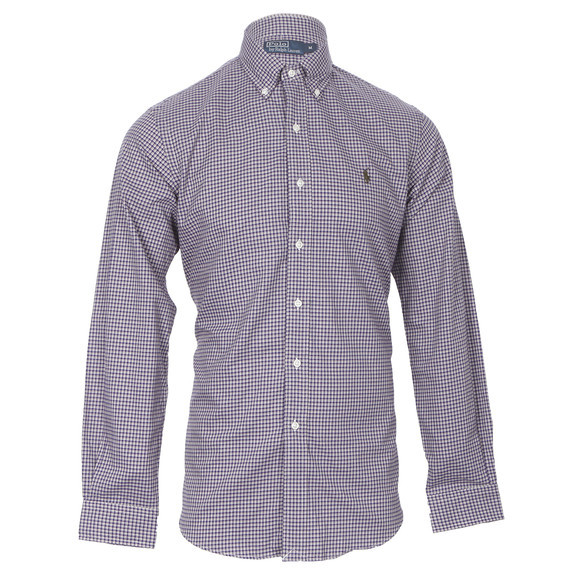Ralph Lauren microsueded twill shirt