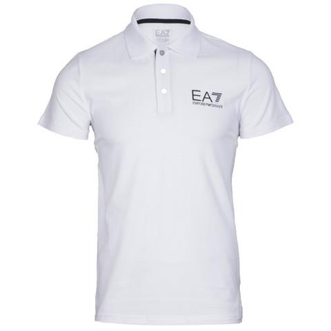 EA7 white polo shirt at masdings.com