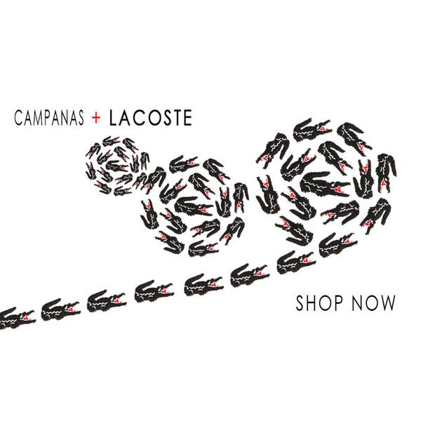 shop Lacoste + Campanas