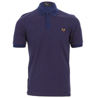 Fred Perry Paisley Print Polo