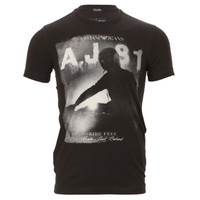 Armani Jeans Printed T-Shirt at Oxygenclothing.co.uk