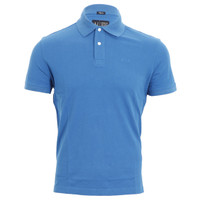 Armani Jeans blue polo at Oxygenclothing.co.uk