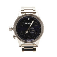 Nixon 51-30 silver at oxygenclothing.co.uk