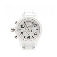 Nixon 51-30 white at oxygenclothing.co.uk