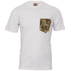 Carhartt camo pocket print t-shirt at masdings.com