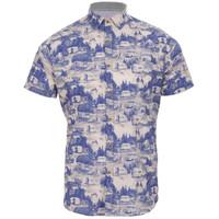 Ted Baker Caravan Print Shirt at Masdings.com