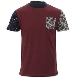 Bellfield Paisley mix t-shirt at masdings.com