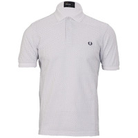 Fred Perry Dot White polo at masdings.com