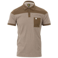 Pretty Green pattern polo at masdings.com