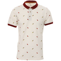Bellfield printed polo at masdings.com