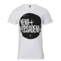 Nena and Pasadena nena logo t-shirt white at masdings.com