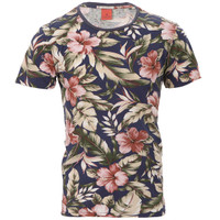 Scotch and Soda floral print t-shirt at masdings.com