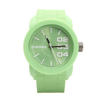 Diesel Green rubber watch at masdings.com