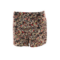 Ichi Cakky Flower Print Shorts at masdings.com