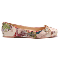 Ted Baker Charee Textile Ballet Pump at masdings.com