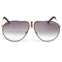 Carrera 44 Black Gold Sunglasses at masdings.com