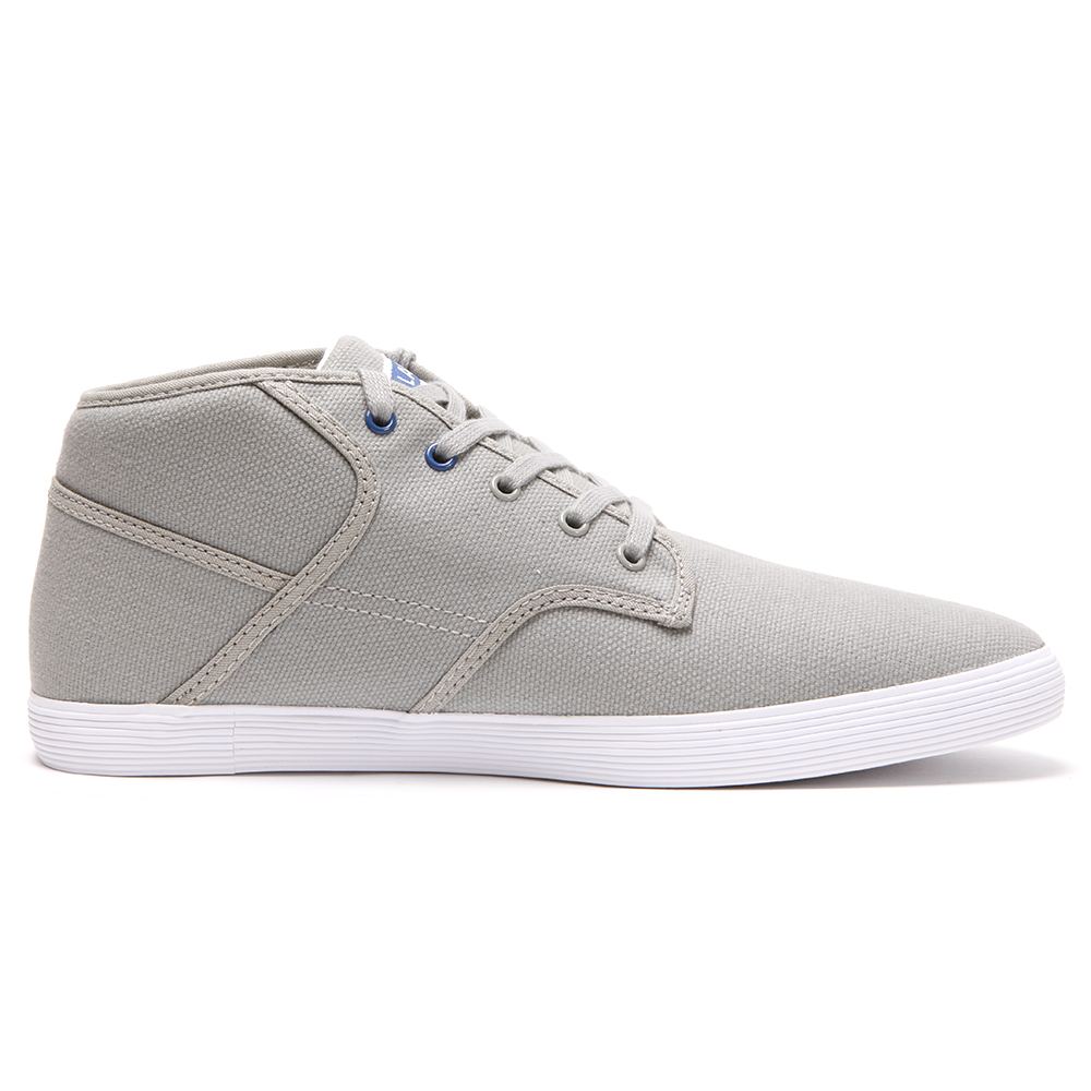 c28e6a749 Lacoste Andover MID JAW Grey Blue Trainer main image