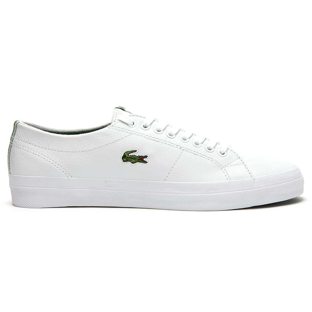 9cb1eff60608c Lacoste Marcel White Green Chunky Trainer main image