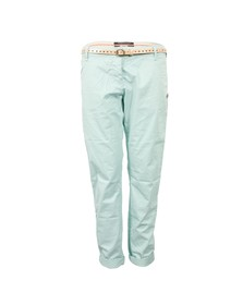 Maison Scotch Womens Blue Stretch Pima Quality Chino