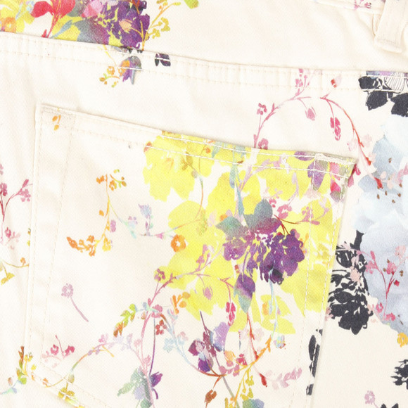 Ted Baker Womens Off-white Ted Baker Eleano Summer Bloom Print Jean main image