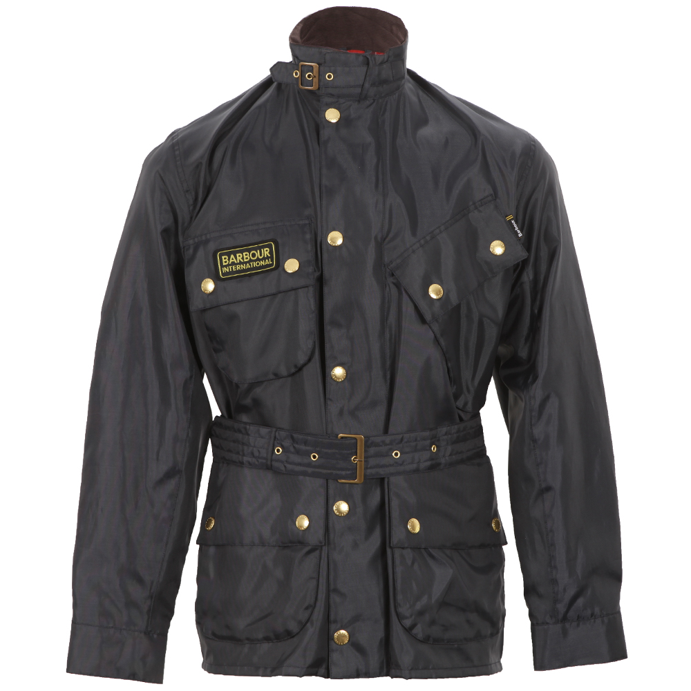 Barbour Navy A7 Bright Brass International Jacket main image