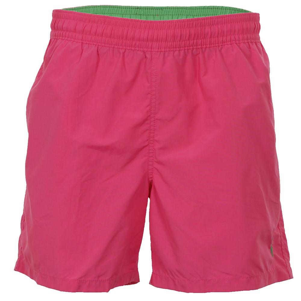 4ec9e78d Mens Pink Ralph Lauren Dessert Pink Hawaiian Boxer Swim Short