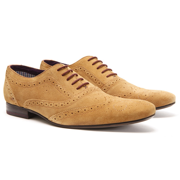 fb5860d3e5a1f Ted Baker Mens Brown Ted Baker Cirek Tan Suede Shoe main image