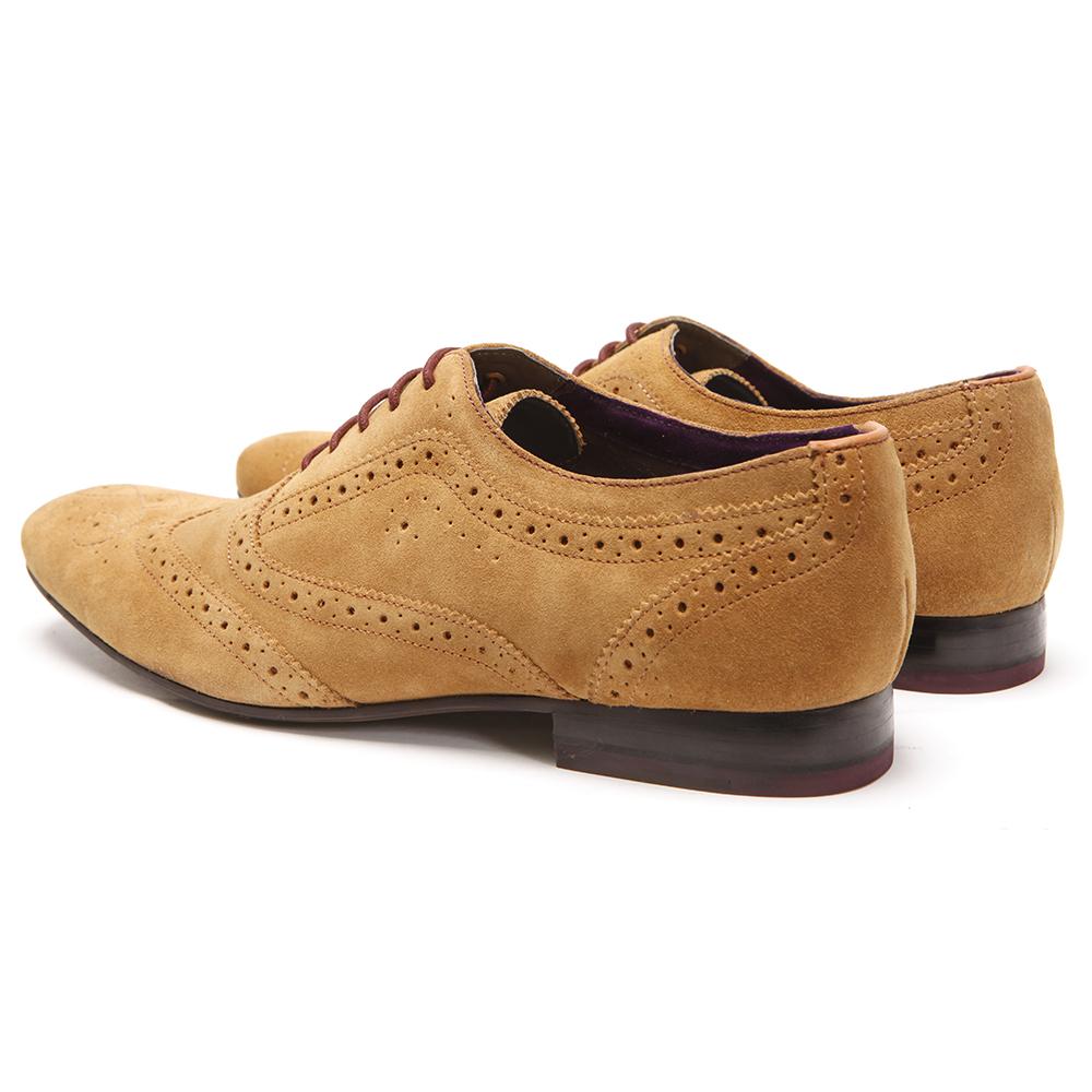 827c6e85289ca Ted Baker Cirek Tan Suede Shoe main image