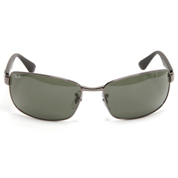 Ray Ban Mens Silver Ray-Ban ORB 3478 Sunglasses main image