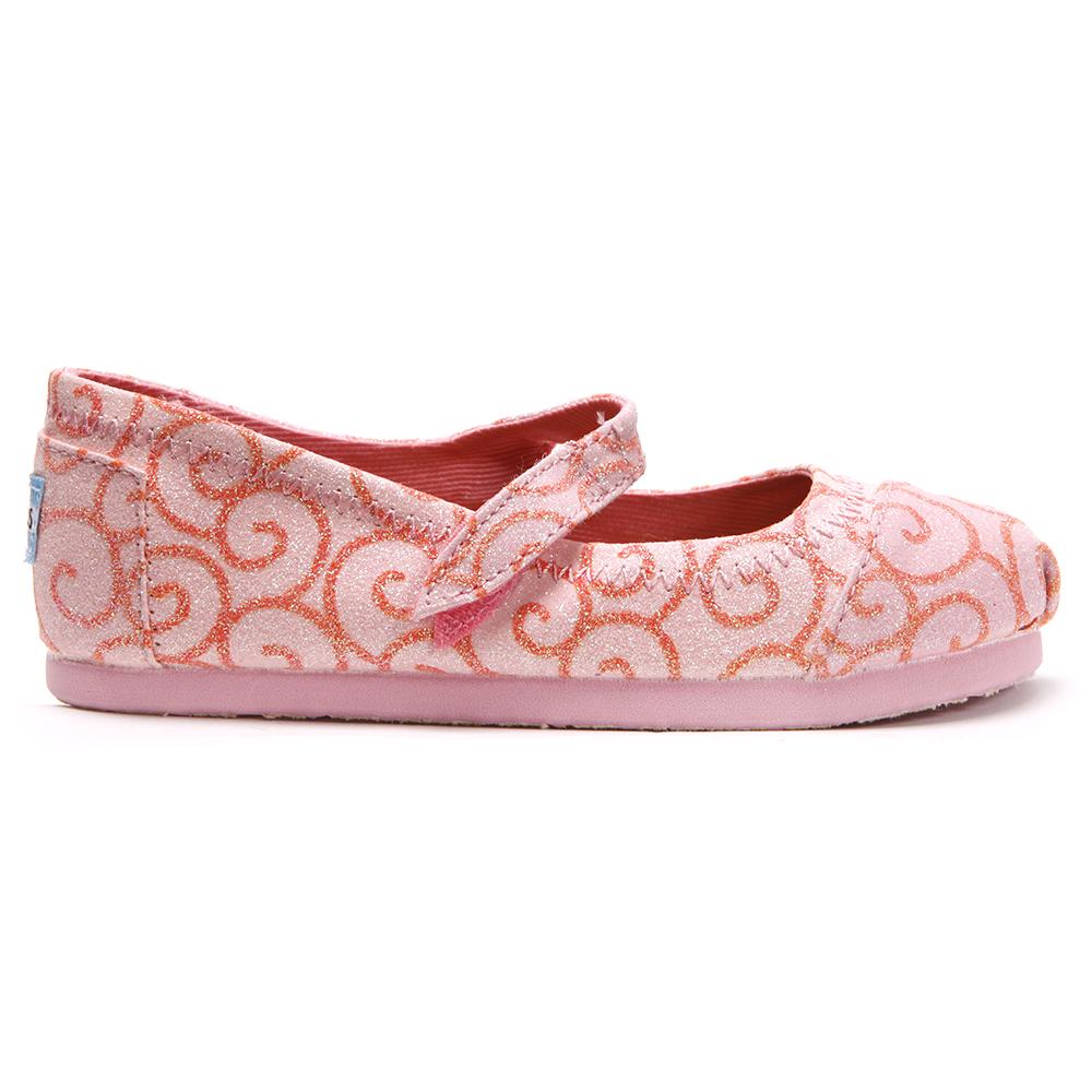 Toms Swirl Pattern Mary Jane Shoe main image