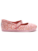 Toms Swirl Pattern Mary Jane Shoe