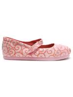 Toms Swirl Pattern Mary Jane Shoe