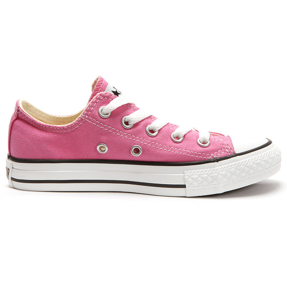 Converse Unisex Pink Converse Kids All Star Ox in Pink main image