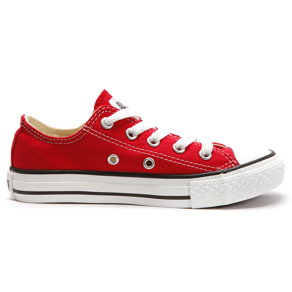 Converse Kids All Star Ox in Red main image