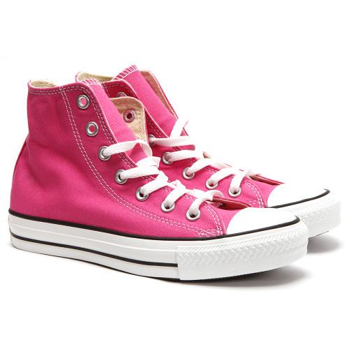 Converse All Star Seasonal Hi in Carmine Pink
