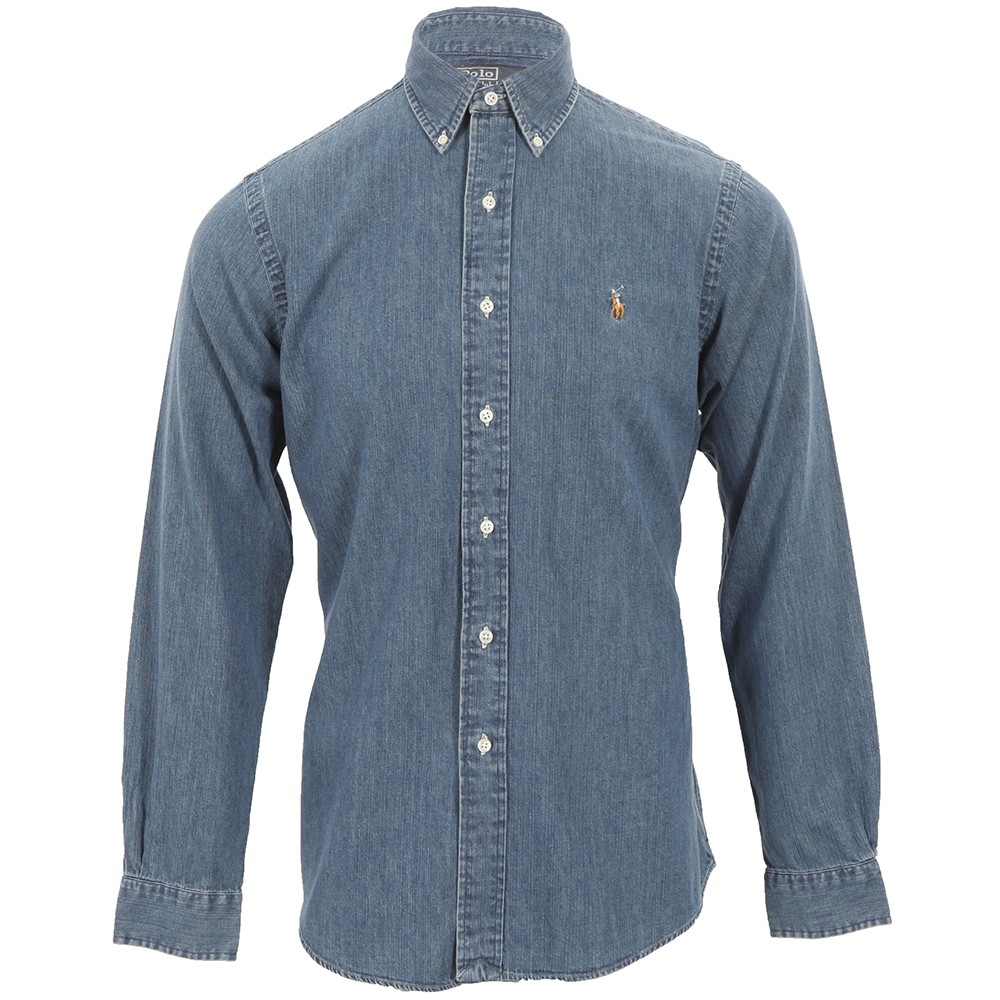 bae70b516c Polo Ralph Lauren Ralph Lauren Custom Fit Denim Shirt LS