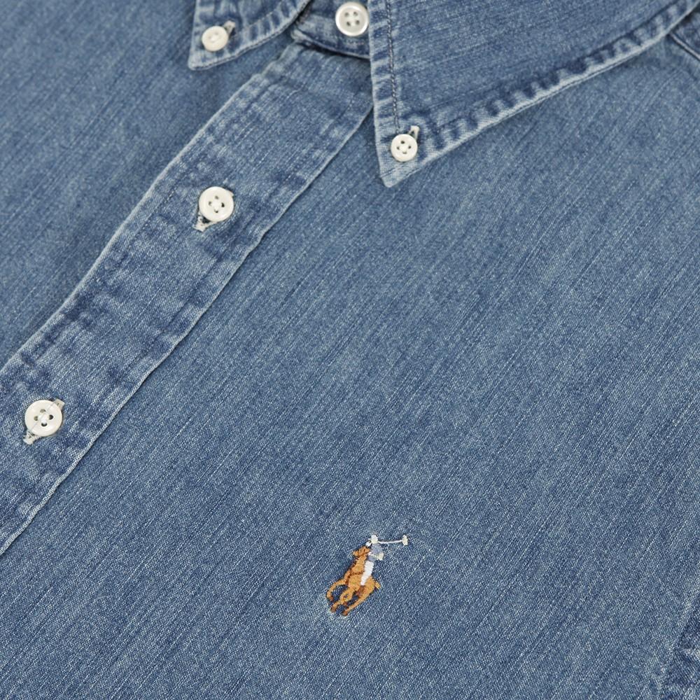 a0bd4d42b4 Polo Ralph Lauren Ralph Lauren Custom Fit Denim Shirt LS
