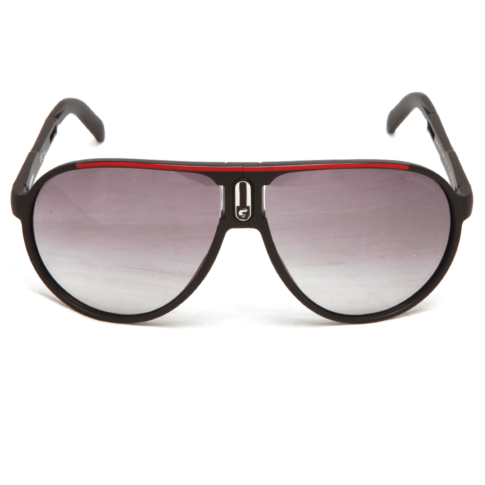 c65acfc53ad6 Carrera Champion/G Black/Red/White Sunglasses main image