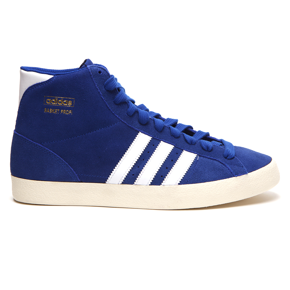 da00f858482e adidas Originals Adidas Basket Profi True Blue Hi Top