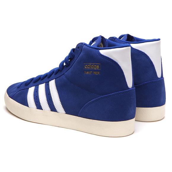 online retailer 4b2b9 ebbf7 adidas Originals Mens Blue Adidas Basket Profi True Blue Hi Top main image