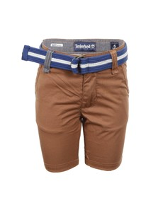 Timberland Boys Brown Timberland T24751 Short