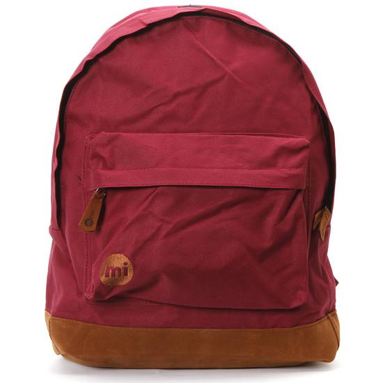 Mi Pac Burgundy Backpack