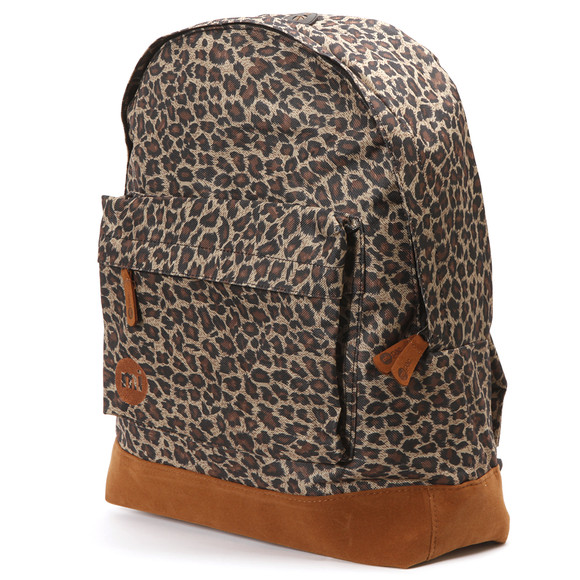 Mi Pac Leopard All Over Print Backpack